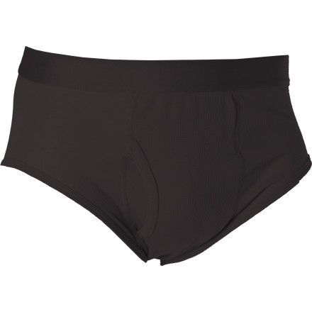 Fitness From trail running to running errands, the Patagonia Lightweight Brief keeps you feeling fine and dandy thanks to the form-fitting recycled polyester, which dries quickly and expels moisture when certain temperatures rise. - $25.00