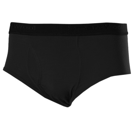 Fitness Pull on the Smartwool Mens Microweight Brief before you head out for your run. Merino wool fabric wicks moisture, breathes well, and resists odor and a small amount of elastane keeps these briefs where you want them. - $19.98