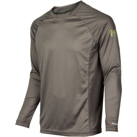 Snowboard The Burton AK Silkweight Crew utilizes dual-component Polartec Power Dry in a lighter-weight configuration for riders who demand maximum moisture wicking but don't have any problems generating their own body heat. - $42.19