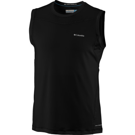 Trail runs, hikes, and midnight workouts are better when you wear the Columbia Men's Baselayer Lightweight Sleeveless Top. - $24.98