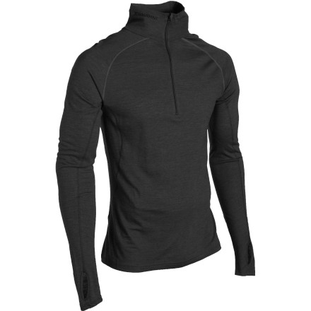 Designed for multiple athletic uses, the Houdini Airborn Zip top sports organic fibers for micro-climate control and ultra-effective breathability. - $101.97