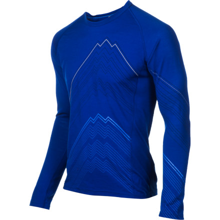They've turned the highest peak in New Zealand into a shirt. Sorry, New Zealand. At least you still have Mt. Number Two. The BodyFit +200 Oasis Mt. Cook Long Sleeve Crew is your soon-to-be chilly weather go-to base layer. We mean it. As soon as the temperature slips below 40, you'll reach for the Oasis. What will you do if it's not there' you better get a couple of them. - $53.97