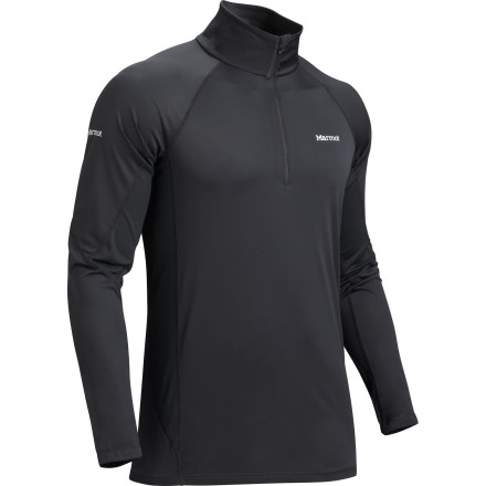 Fitness For year-round versatility and subtle warmth retention during warm months, check out the Marmot Lightweight 1/2-Zip Top. Polartec Power Dry fabric wicks sweat away to keep you dry and comfortable, and Cocona fibers prevent odors from accumulating in the fabric over time. - $30.22