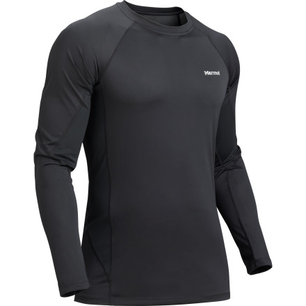 Whether used for year-round layering or worn as a stand-alone piece, the Marmot Lightweight Crew wicks moisture away from your skin when you work up a sweat. Stretchy Polartec Power Dry fabric provides a close fit, while Cocona antimicrobial fibers keep funk to a minimum. - $26.97