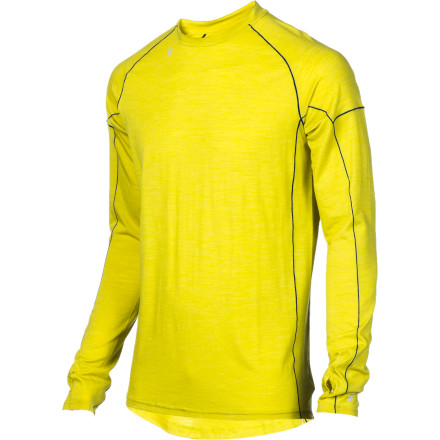 Stoic crafted the Alpine Merino 150 Crew Shirt for men who need a long-sleeve top that's warm, durable, and fit for duty in the mountains, on the trail, or in the snow. Blended merino wool and synthetic material helps regulate your temperature and control moisture when you're working up a sweat in the cold. - $35.40