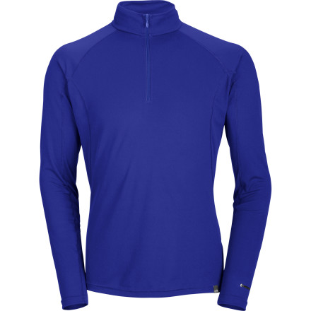 The North Face Light Zip-Neck Top manages moisture when worn next to your skin to help you stay dry and comfortable. FlashDry light fabric is warm (not hot) without the bulk associated with many cold-weather-specific long underwear tops. - $49.95