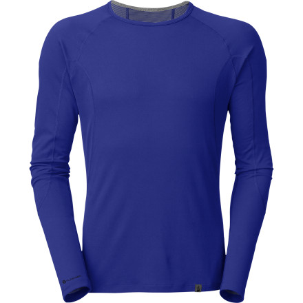 Ski The North Face Light Crew Neck Top keeps you dry and comfortable so you can get out into the cool weather and crank some turns, or hike to the summit, or whatever fuels you during the late fall and early spring. - $44.95