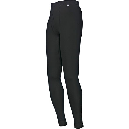 Ski Wear the Helly Hansen Men's Fly Pant long underwear for aerobic activities in cool weather. These bottoms wick moisture and dry quickly, so you can sweat your way up a mountain or rush down a ski run and not feel clammy or chilled. They're also antimicrobial, which means they won't stink at the end of the day. - $39.95