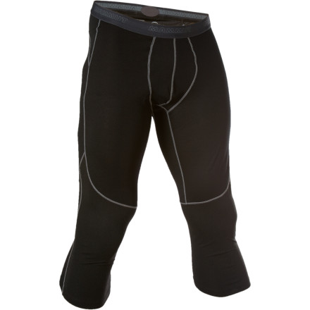 Ski The Mammut Mens All-Year  3/4 Pant gives you four-season moisture management for everything from backpacking to backcountry skiing. The  3/4-length doesnt bunch up under ski boots or heavy socks, and the body-mapped blend of merino wool and polyester insulates and fights odors on longer expeditions. - $32.97