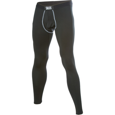 Wear the Saxx Men's Pro Elite Long John Bottom to keep dry and comfortable the next time you are outside playing and the weather is less than perfect. - $39.57