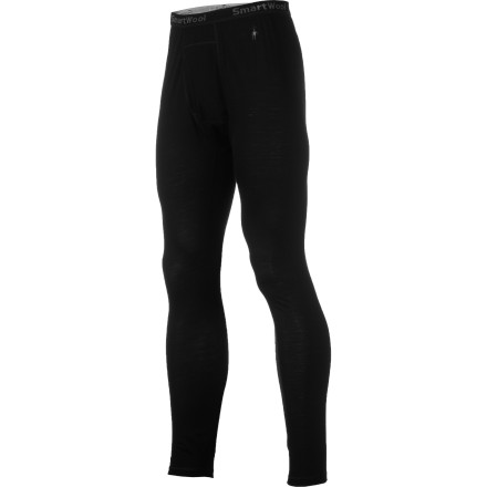 Ski Let the lightweight merino wool SmartWool NTS Microweight Bottom ensure a dry and comfortable environment inside your ski pant while you skin up and then make turns all the way to the sunny valley floor. - $74.95