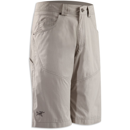 Climbing Relaxation and motion are two keys to climbing, and coincidentally two focuses of the Arc'teryx Bastion Long Short. - $88.95