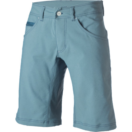 Climbing Long demanding approaches and challenging sport routes at the crags are made easy with the stretchy Houdini Action Twill Short and its gusseted crotch panel. - $78.47
