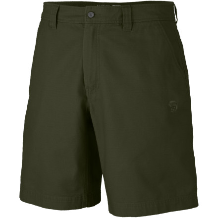 Climbing Mountain Hardwear Cordoba Short. This double-canvas short features a full-length inseam gusset for complete mobility while you stretch things out at the crag. - $47.95