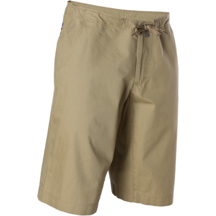 Climbing As you take in the 360-degree view of the valleys, small towns, endless horizons, it's easy to feel good about your decision to wear the Patagonia Men's Lightweight Climb Short. Mostly because the relaxed fit and soft yet durable canvas feels great and breathes well, but also because the organic cotton used to weave this versatile short eliminates a little more toxic waste into the world that you love to explore. - $29.50