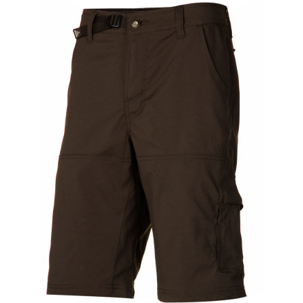 Climbing The Men's Stretch Zion Short from prAna wants to spend the season hiking, climbing, and playing outside. Give this short what it wants, and in return it will give you mobility, quick-drying comfort, and abrasion resistance for long rocky scrambles and pushing through the brambles. - $68.95