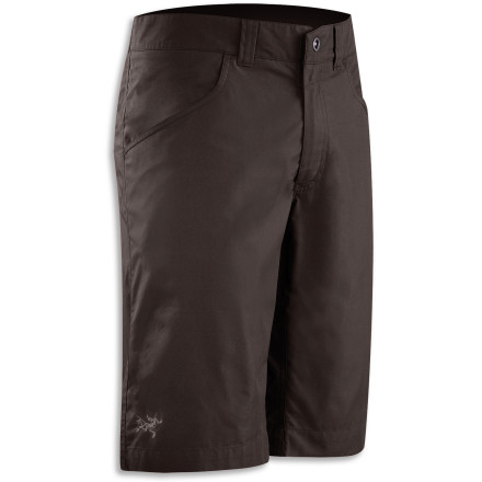Camp and Hike Comfortable hiking gear can make or break your adventure. The Arc'teryx Renegade Long Short keeps you comfortable on anything from a twenty-minute jaunt outside camp to a full-fledged weekend of backpacking. - $88.95