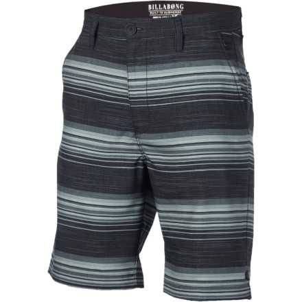 Surf Equip yourself with the Billabong Stringer Hybrid Short before engaging in any of your various favorite activities that involve being soaked. - $32.70