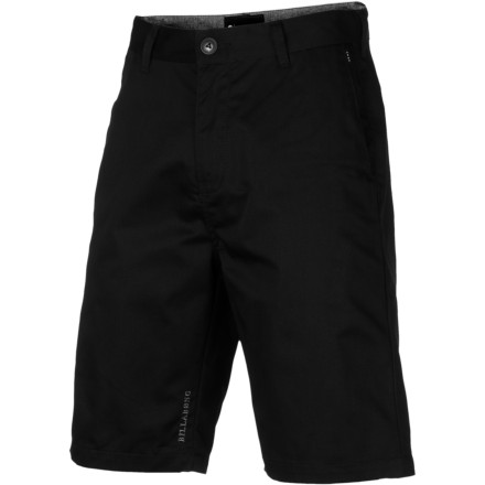 Skateboard The Billabong Men's Carter Shorts shell out go-anywhere style thanks to clean design. These are the kind of shorts that you can just grab them out of your closet (or off the floor), top off with any shirt, and go without worrying that you'll look like a child dressed you. - $39.45