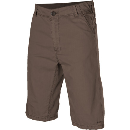 Climbing Start your summer off right with a hike and the Kavu Kick Start Short. These casual shorts have triple-reinforced seams so you won't rip them if you find a tiny cave worth a closer look. As you contort yourself to fit through the rocky porthole, the stone-washed fabric stretches and feels soft while you see if the cave has tenants. - $38.46