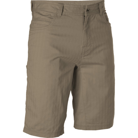 When you put on the prAna Otto Shorts, you may notice that your body starts compulsively moving towards doors and open windows. These comfortable, casual shorts are so synched with outdoor adventure that they may subconsciously make you crave playing outside even more than usual. - $29.98
