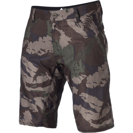 Surf A true amphibian can't resist water, but knows there are times when he has to slide onto land and re-energize. The Reef Men's Land To Sea Camo Short is the short you can sport in the water when the waves call and then on land when it's time to walk upright and soak up some sun. - $41.97