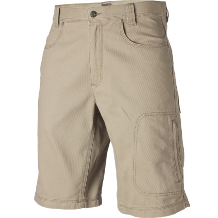 Entertainment Durable, soft, vertically textured Billy Goat Bedford cotton fabric gives the Royal Robbins Billy Goat Utility Short its unique look and travel-ready attitude. - $32.48