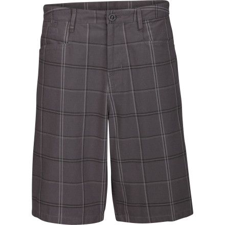 Something about summer makes a man want to hang out in a well-landscaped area and whack the spit out of balls, so slip on The North Face Radplaid Short and go clubbin. - $32.48