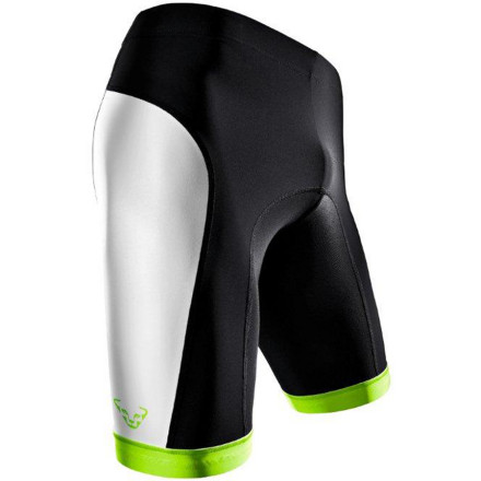Fitness The three-panel design of the Dynafit Men's React Dry Short Tight offers riders and runners true active comfort with two key compressive zones and extra-breathable stretch at the waist. Whether you take to the trail on two wheels or two feet, the silicone grips and at the leg cuffs keep the moisture-wicking material in place. - $84.95