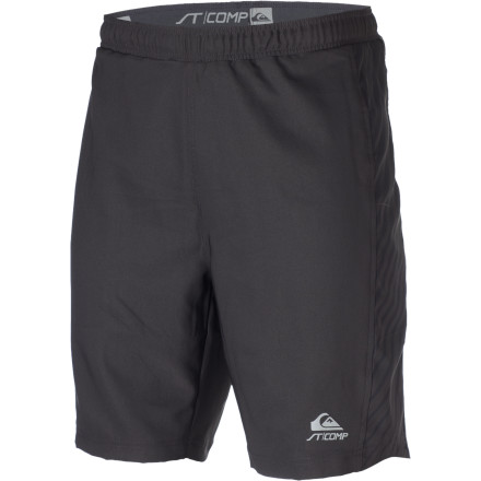 Fitness Feel an overwhelming sense of pride when you wear the Quiksilver National Running Short. And also haul balls. - $34.30