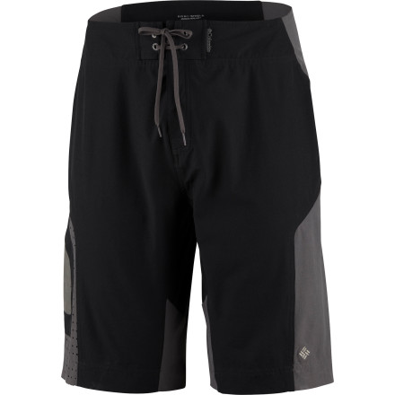 Fitness Climb into your Columbia Drain Maker Shorts and beat the heat by jumping off that rope swing and into the lake. These shorts dry fast and are built for extreme fun. - $32.48