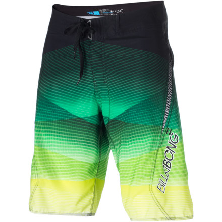 Surf Designed with fabric made from recycled content, featuring four-way stretch tech, and finished off with a quick-dry H2 Repel coating, the Billabong Flux Board Short help you tackle big waves with ease and look fresh while you do it. - $38.97