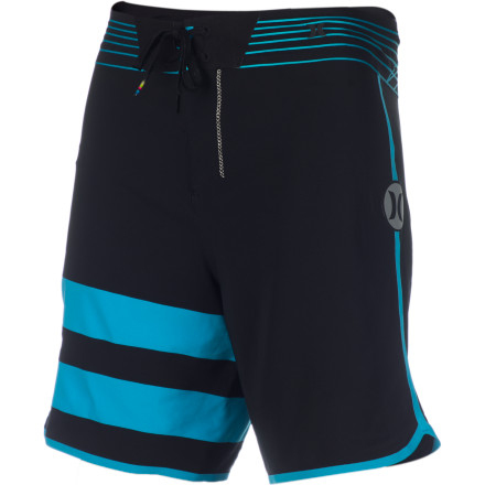 Surf The Hurley Phantom Block Party Fuse Board Short fuses past style and mod material together. The end result is timeless and unwavering performance and looks. - $99.95