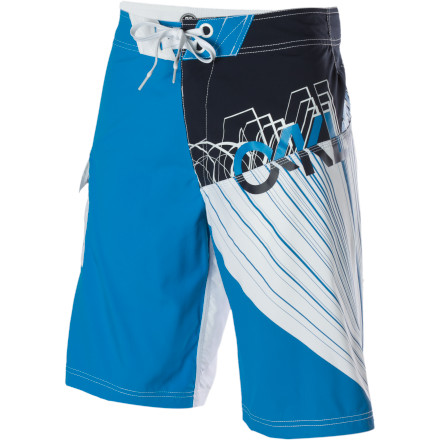 Surf Pull on the Oakley Men's Peel Out Board Short, and lay some rubber in the driveway. Who cares if it's still in the pre-dawn hours, but there's a wicked set starting to build and you don't have time to mess around with all that early morning 'courtesy' crap. - $25.00