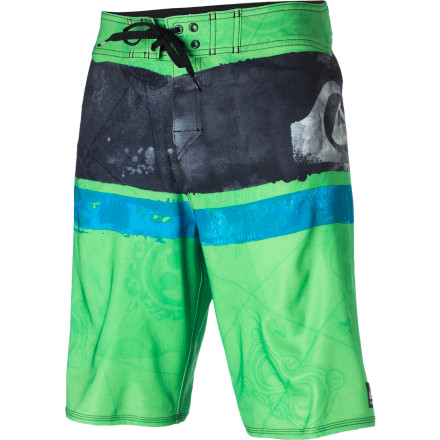 Surf Whether he's racking up contest trophies or just paddling out for a casual session, Kelly Slater relies on his signature-model Quiksilver Cypher Kelly Nomad Board Shorts. They're comfortable, functional, and they look decent too. - $52.00