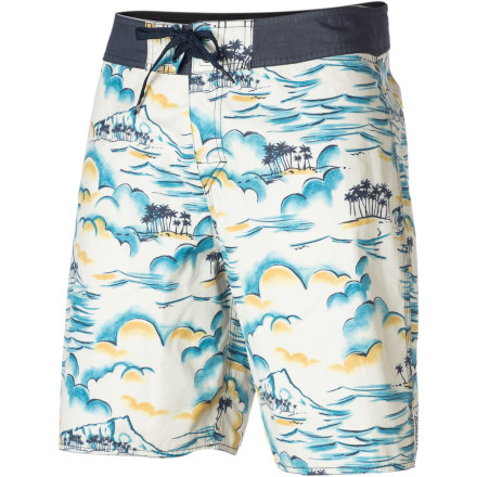 Surf You'd wear your Quiksilver Kona Breeze Board Shorts every minute of the whole summer if you could, but you'd probably get fired. That's why you should never get an office job. - $32.73
