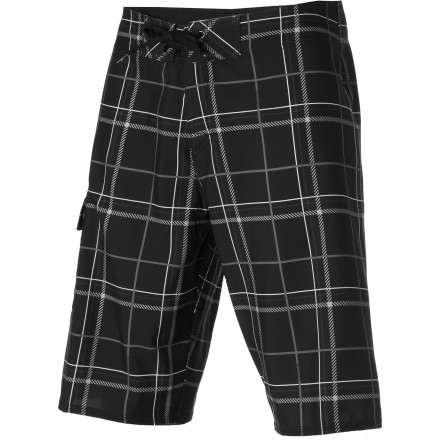 Surf The Quiksilver Crush A Lot Board Short isn't a player. Actually, yeah it is. Don't leave it alone with your girlfriend's bikini unless you want little boardshort babies running around in a few months. - $29.70