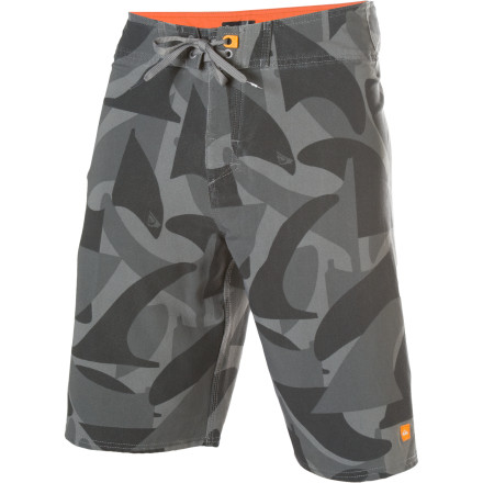 Surf Rolling down the boardwalk, junk boating, or getting wicked in the water wearing the Cammofin Board Short sounds legit. - $34.75