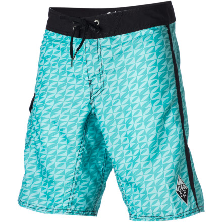 Surf So what if you don't live on the coastyou can still sport the super-soft and stylee Reef Men's Board Pond Board Short when the rope swing, canoe, and tubing season starts. - $44.76