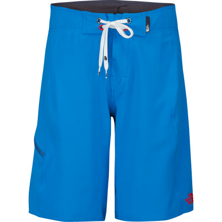 Surf The North Face Lost Coast Board Short is big on features, not on flash. - $35.97