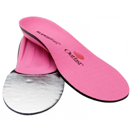 Ski Slide a pair of Superfeet Women's Trim-To-Fit hotPINK Insoles into your ski boots, snowboard boots, or winter hikers and you'll instantly notice an increase in comfort and insulation and a reduction in fatigue. So, you'll be warmer, more comfortable, and more energetic all day. - $49.95