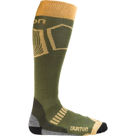 Snowboard The Burton Ultralight Wool Sock gets an A+ in all categories. Breathability,  fast drying, funk resistance, and of course, a superb fit are what makes this warm-weather sock a star pupil. - $12.54