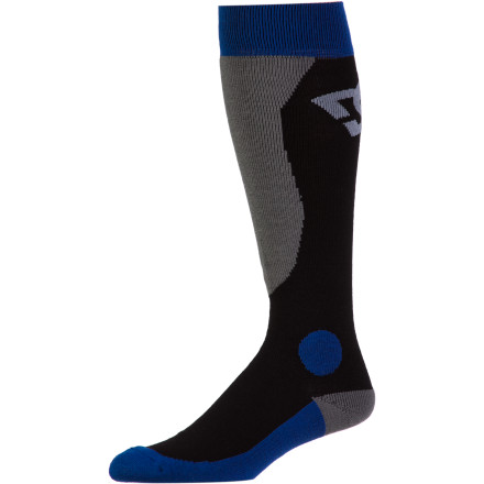 Snowboard The DC Morpho Snowboard Sock has moisture-wicking and fast-drying properties on lock. - $14.00