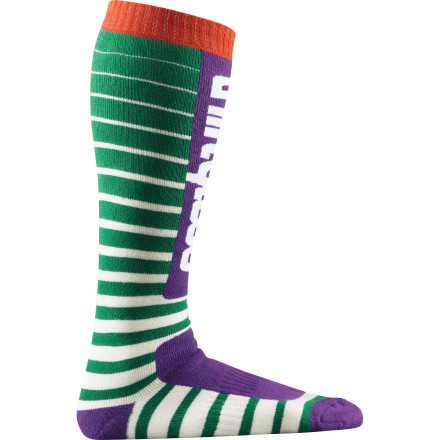 Snowboard The soft ThirtyTwo Crazytown Sock, which benefits from soft merino wool's natural antimicrobial properties, won't get funky even after a few days on the mountain. Your buddies will thank you. - $19.57