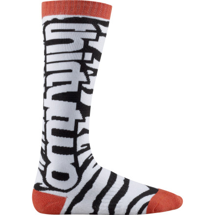 Snowboard Get wild on the mountain while keeping your feet dry thanks to the ThirtyTwo WildOne Sock's CoolMax fabric that draws moisture away from your skin. - $16.77