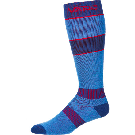 Snowboard The Vans Classic Mid Weight Women's Snow Sock will be the unsung hero of all your gear. Sure, nobody will see your socks, but without them, your feet will be a hot mess. - $14.67