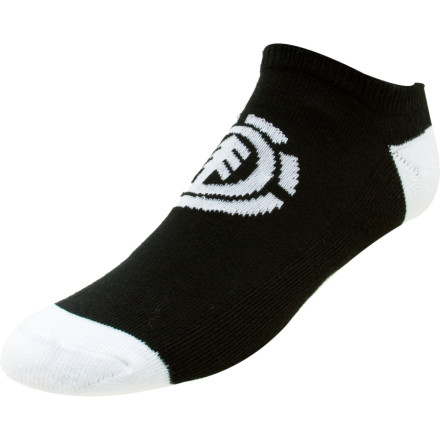 Fitness We presume Element named these the Run Down Socks for those moments when a cop drops a half-eaten donut and chases you in a futile attempt to hassle you for skating. You certainly arent headed out for a leisurely jog when you don these short socks. - $4.95