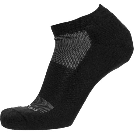 Fitness The Darn Tough Coolmax No-Show Cushion Running Sock helps you weather the upcoming miles in comfort thanks to moisture-wicking Coolmax polyester. This low-profile design works actively to keep you dry and blister free while you crank out a training run or sight the finish line on race day. - $13.95