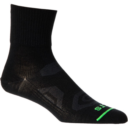 Fitness Unless you want clammy, uncomfortable feet, swap out your cotton socks for the FITS Ultra Light Trail Quarter Socks and enjoy a trail run filled with foot bliss. - $16.95