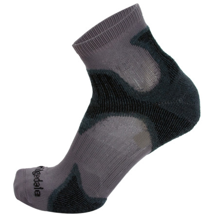 Fitness Hell hath no fury like a hiker with sore feet. The Bridgedale X-Hale Speed Demon Sock helps keep your feet comfortable by ventilating away excess heat and padding the parts of your foot that need it most. A built-in heel-retention system adds support, and a mapped impact cushioning pattern pads you against heavy tromping. Bridgedale gave the X-Hale Speed Demon an ultra-thin fit so you could use it as your speed-hiking sock. - $15.95